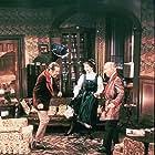 Audrey Hepburn, Rex Harrison, and Wilfrid Hyde-White in My Fair Lady (1964)