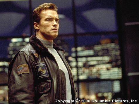 Arnold Schwarzenegger stars as Adam Gibson (photo credit: Rob McEwan)