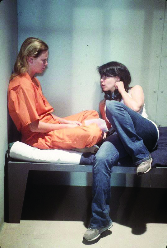 Charlize Theron and Patty Jenkins in Monster (2003)