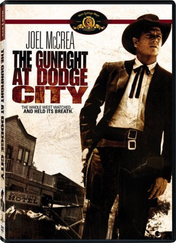 Joel McCrea in The Gunfight at Dodge City (1959)