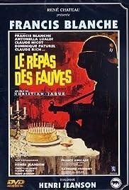 Le repas des fauves Poster