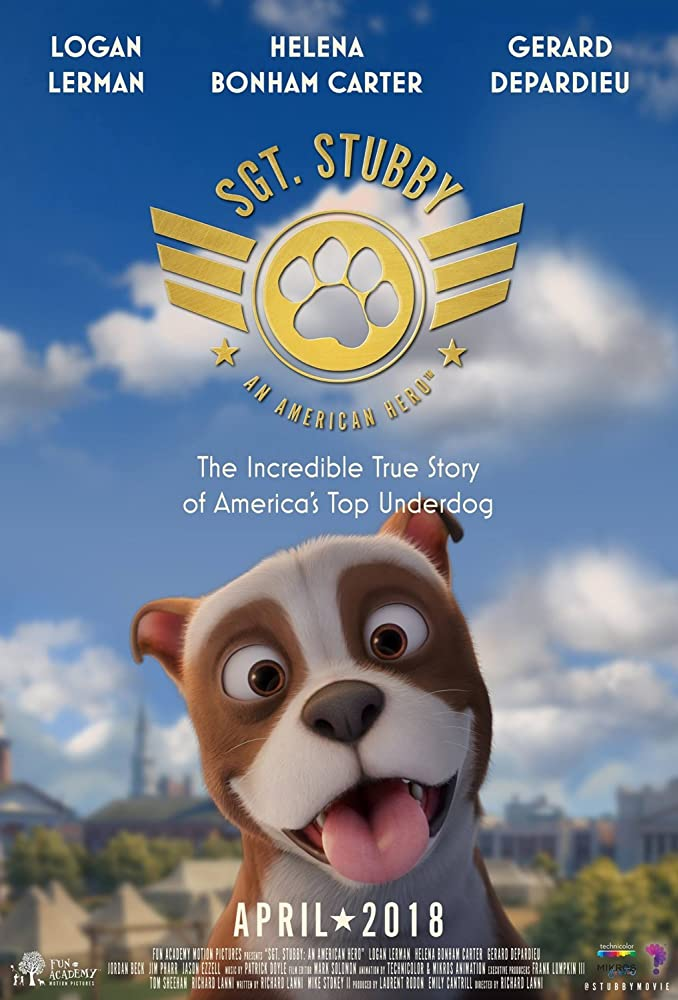 Sgt. Stubby An American Hero 2018 Full Animation Bluray HD and Full HD  | 480p – 720p – 1080p |