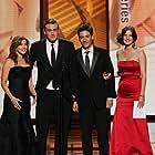 Alyson Hannigan, Jason Segel, Josh Radnor, and Cobie Smulders in The 61st Primetime Emmy Awards (2009)