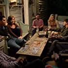 Max Greenfield, Jason Ritter, Maggie Grace, Max Minghella, Nate Parker, Aubrey Plaza, and Jane Levy in About Alex (2014)