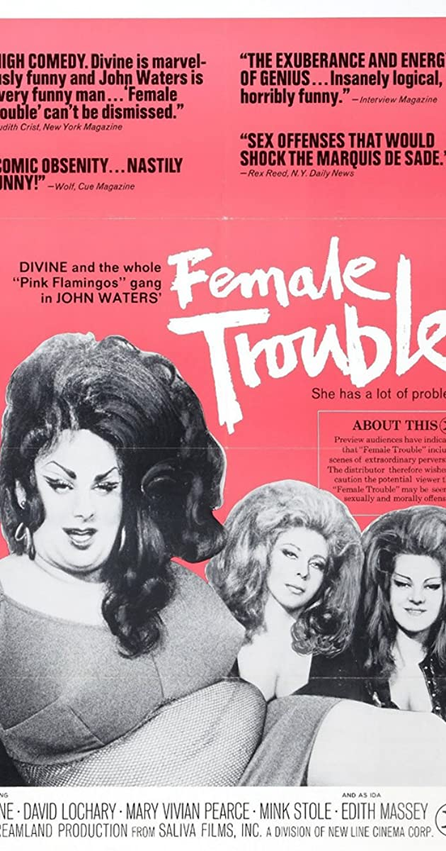 Subtitle of Female Trouble