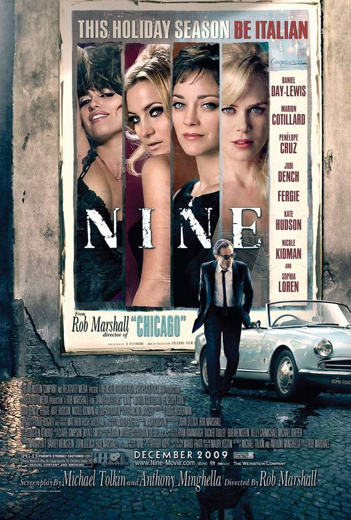 Nine (2009) BluRay 480p, 720p & 1080p