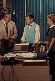 George Reeves, John Hamilton, Jack Larson, Noel Neill, and Robert Shayne in Adventures of Superman (1952)