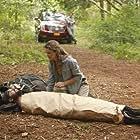 Keri Russell and David Cross in Running Wilde (2010)