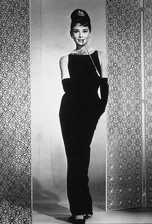 "5596-9 ""Breakfast At Tiffany's"" Audrey Hepburn"