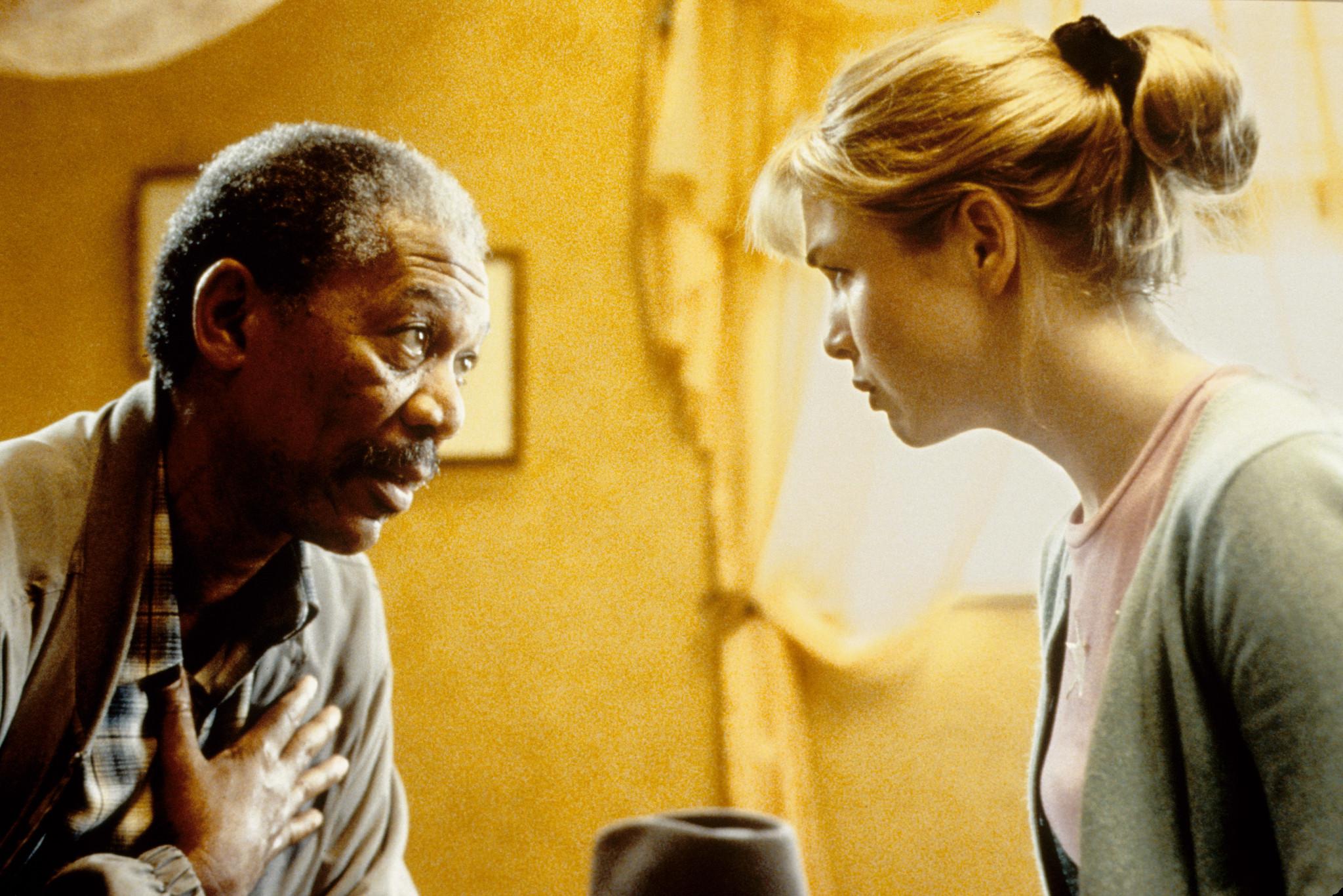 Morgan Freeman and Renée Zellweger in Nurse Betty (2000)