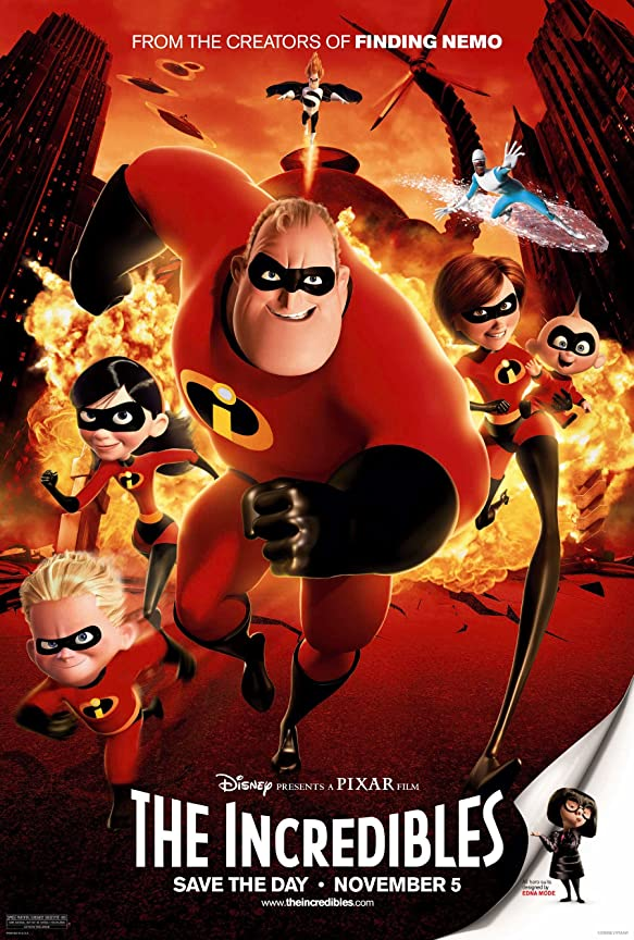 The Incredibles (2004) Hindi Dubbed