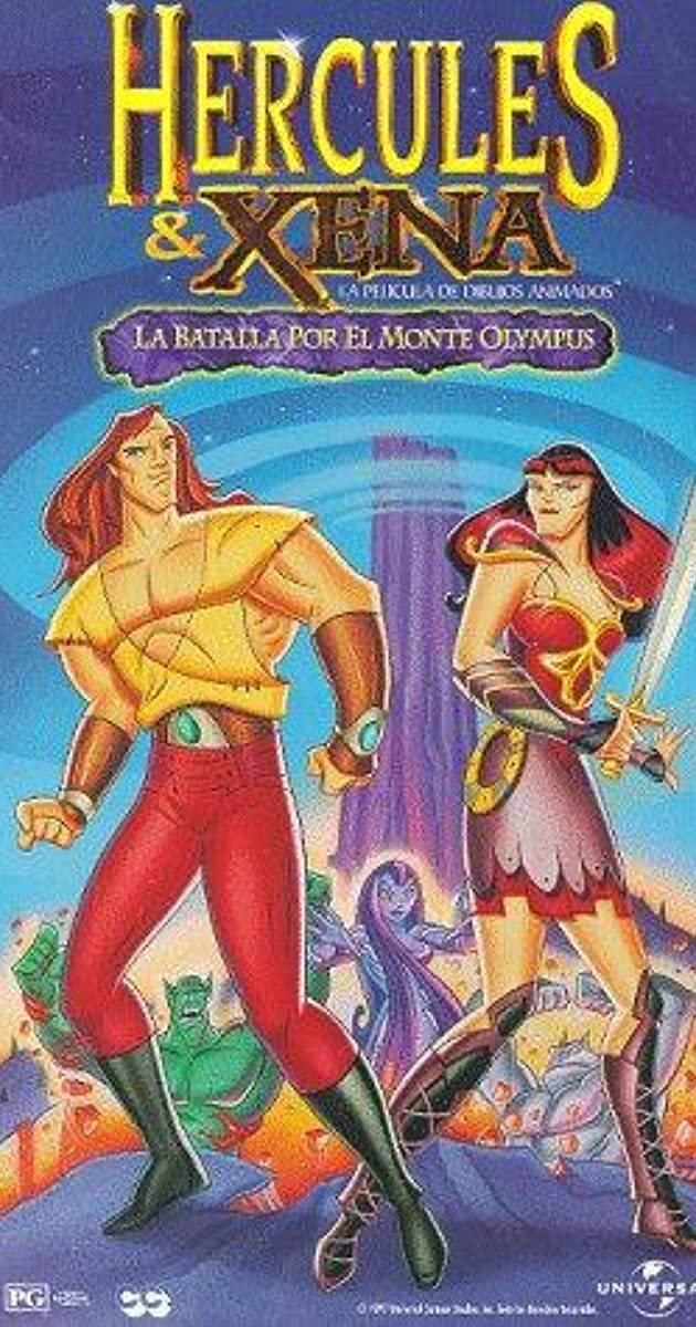 Hercules And Xena The Animated Movie The Battle For Mount