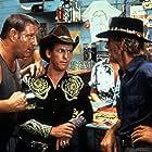Paul Hogan, Steve Rackman, and Gerry Skilton in Crocodile Dundee (1986)