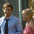 Julie Benz and Michael C. Hall in Dexter (2006)