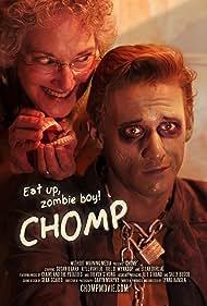 Susan O'Gara (Millie) and Kyle Porter (Kyle) in Lynne Hansen's short horror comedy Chomp.