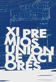 XI premios unión de actores Poster