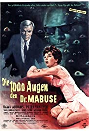 The 1,000 Eyes of Dr. Mabuse (1960) Poster - Movie Forum, Cast, Reviews