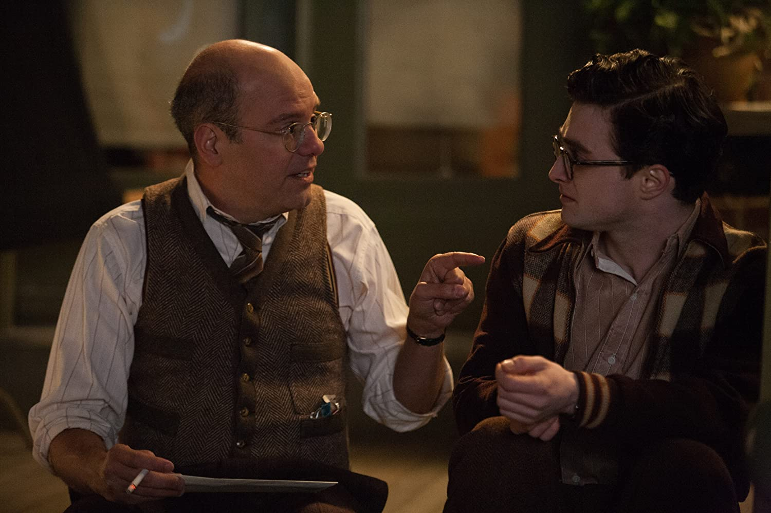 David Cross and Daniel Radcliffe in Kill Your Darlings (2013)