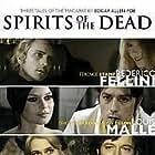 Brigitte Bardot, Jane Fonda, Terence Stamp, Alain Delon, and Peter Fonda in Histoires extraordinaires (1968)