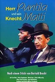 Herr Puntila and His Servant Matti Poster