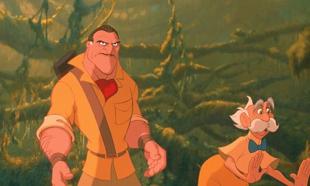 Villanos Disney-Brian Blessed and Nigel Hawthorne in Tarzan (1999)