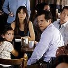 Mark Wahlberg, John Leguizamo, Zooey Deschanel, and Ashlyn Sanchez in The Happening (2008)