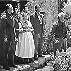 Sara Allgood, Donald Crisp, Richard Fraser, John Loder, James Monks, and Evan S. Evans in How Green Was My Valley (1941)