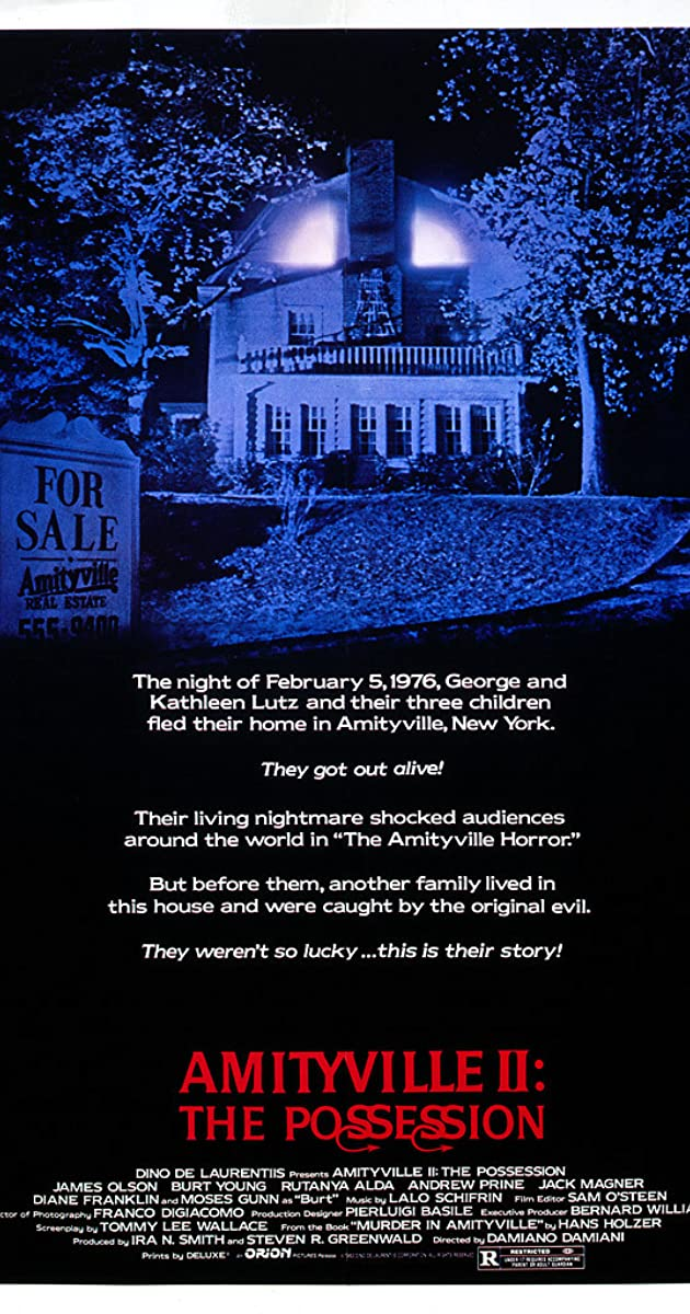 Subtitle of Amityville II: The Possession