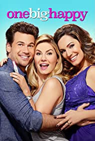 Kelly Brook, Elisha Cuthbert, and Nick Zano in One Big Happy (2015)