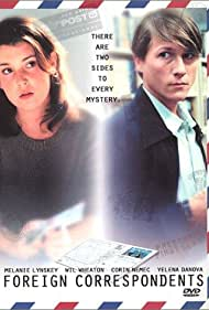 Melanie Lynskey and Corin Nemec in Foreign Correspondents (1999)