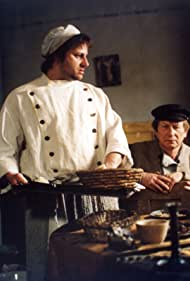 Radek Holub and Josef Dvorák in Revizor (2004)