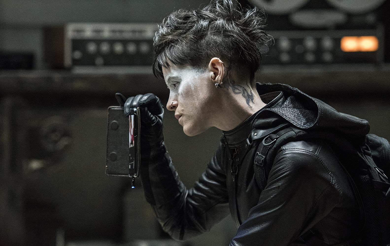 Claire Foy in The Girl in the Spider's Web (2018)