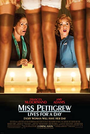 Miss Pettigrew Lives for a Day Poster Image