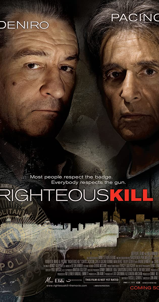 Subtitle of Righteous Kill