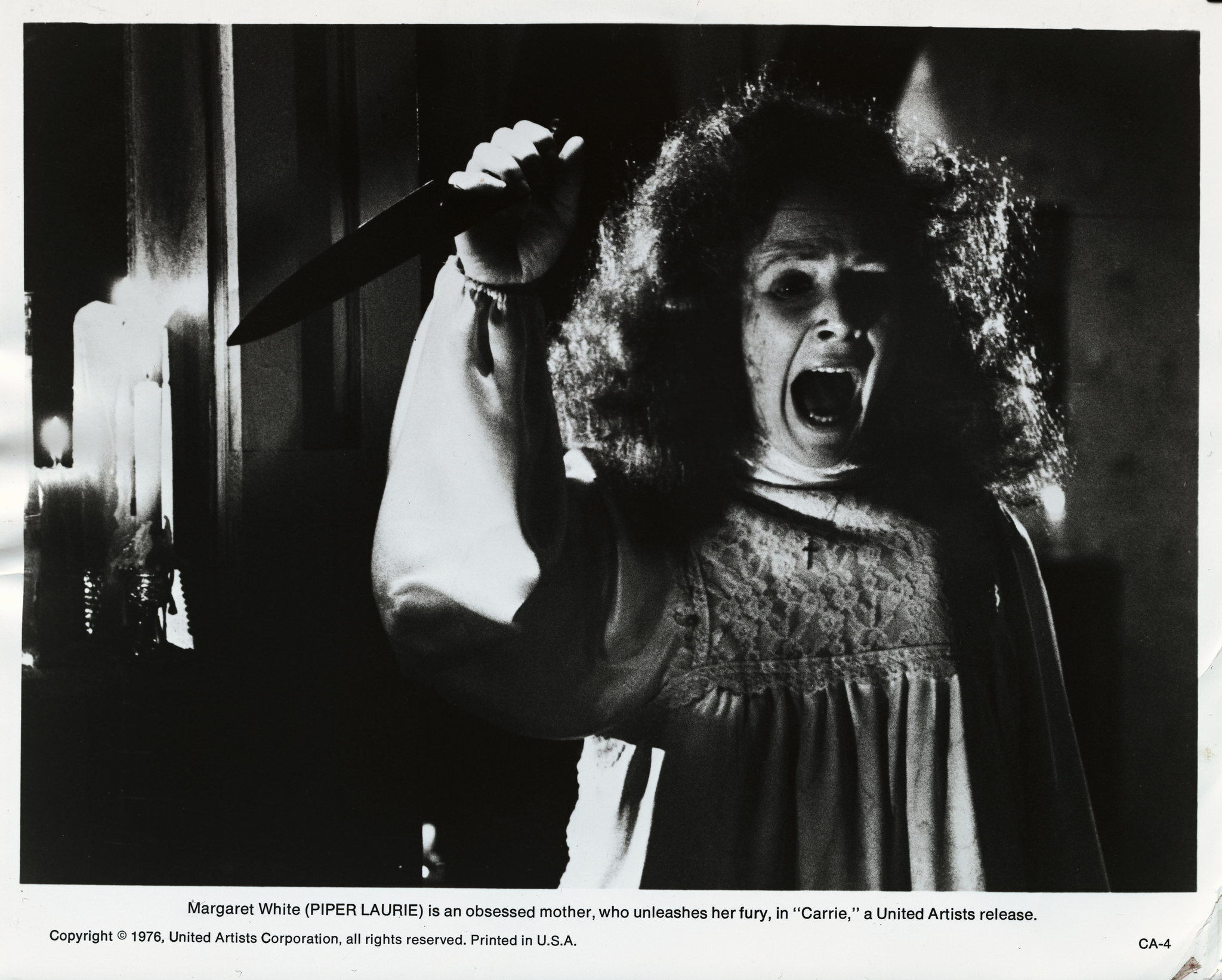 Piper Laurie in Carrie (1976)