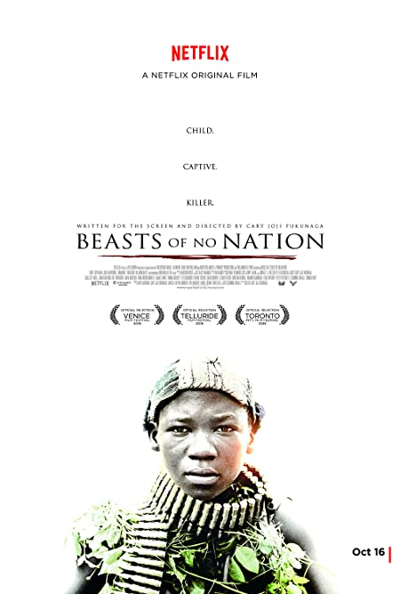 Beasts of No Nation (2015) English  WEB-DL - 480P | 720P - x264 - 500MB | 1GB - Download & Watch Online With Subtitle Movie Poster - mlsbd