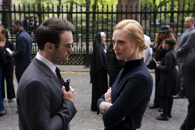 Charlie Cox and Deborah Ann Woll in Daredevil (2015)