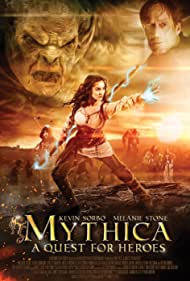 Adam Johnson, Nicola Posener, Jake Stormoen, and Melanie Stone in Mythica: A Quest for Heroes (2014)