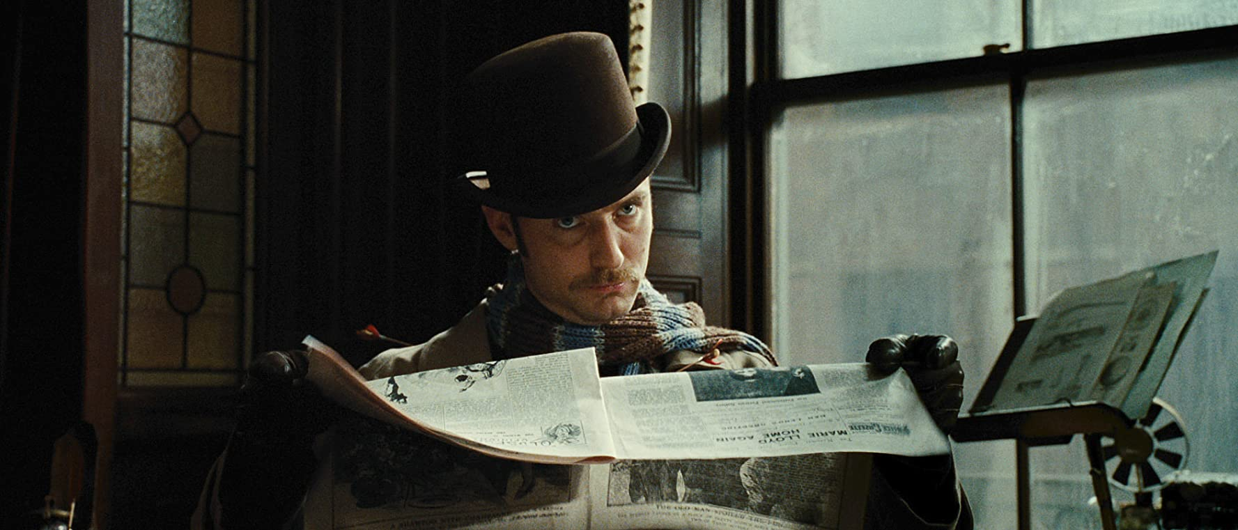 Jude Law in Sherlock Holmes: A Game of Shadows (2011)
