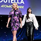 Charlize Theron and Sofia Boutella at an event for Atomic Blonde (2017)
