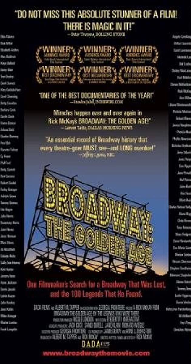 Broadway: The Golden Age, by the Legends Who Were There (2003) Subtitles