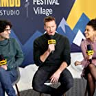 Babak Anvari, Armie Hammer, and Zazie Beetz at an event for The IMDb Studio at Sundance (2015)