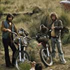 Kris Kristofferson, Donnie Fritts, and Warren Oates in Bring Me the Head of Alfredo Garcia (1974)