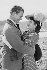 "Karen Sharpe stars as 'Linda' and Robert Cunningham as 'Buck' in the 'Claim Jumpin' Jennie' episode of ""Death Valley Days"""