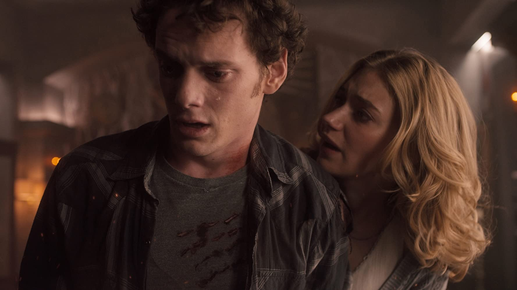 Anton Yelchin and Imogen Poots in Fright Night (2011)