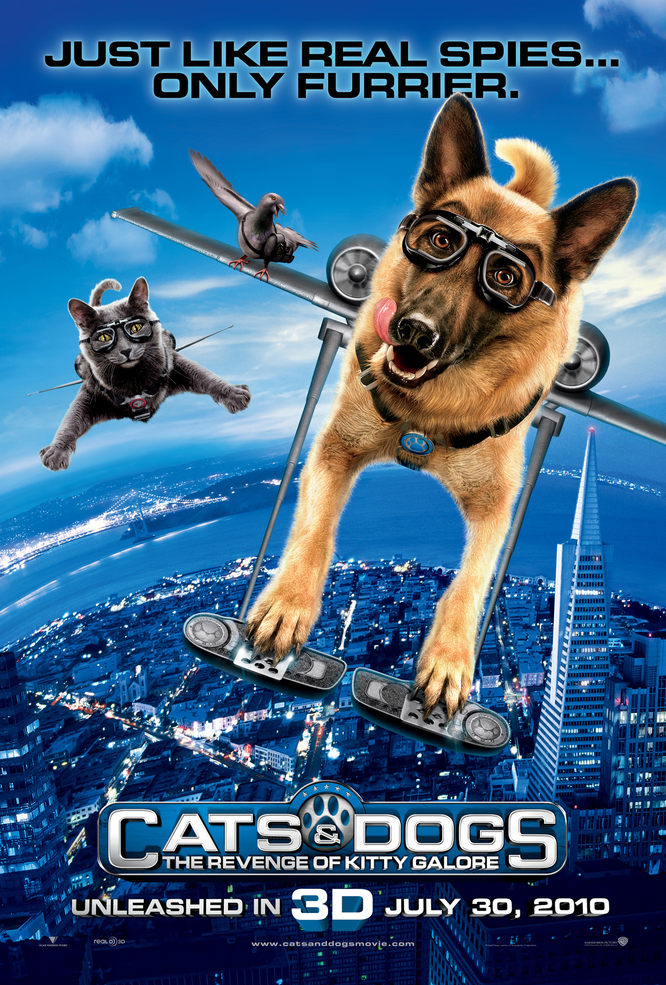 Cats & Dogs: The Revenge of Kitty Galore (2010) - IMDb