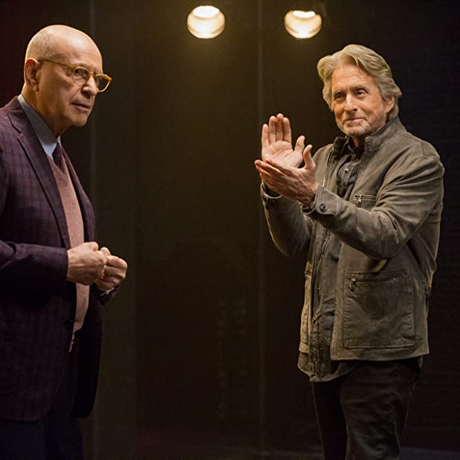Michael Douglas and Alan Arkin in The Kominsky Method (2018)
