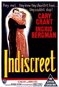 Unlimited movies downloads free Indiscreet by Stanley Donen [720x594]