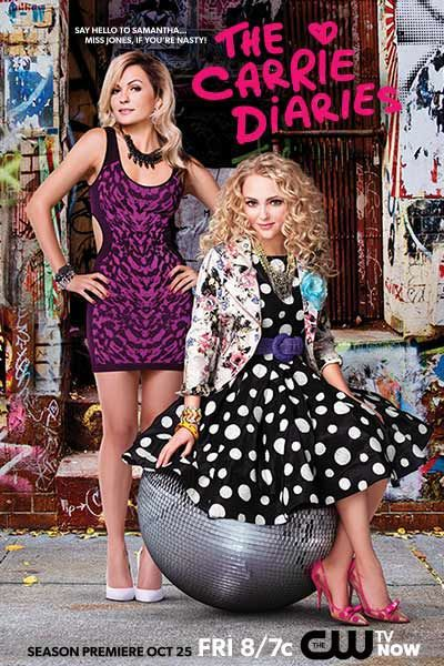 AnnaSophia Robb and Lindsey Gort in The Carrie Diaries (2013)
