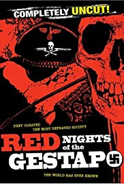The Red Nights of the Gestapo Poster